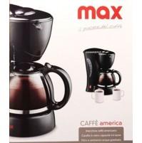CAFFETTIERA MACCHINA PER CAFFE AMERICANO ELETTRICA CIN CARAFFA IN VETRO