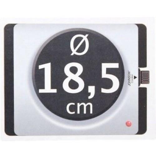 Fornello elettrico con piastra da 18 5 cm 1500w con for Fornello elettrico ikea