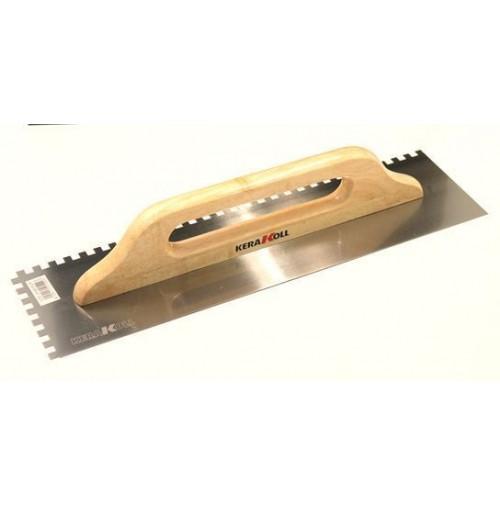 Frattone frattazzo dentato per colla in accaio 480 x 130mm kerakoll - Colla per piastrelle kerakoll prezzo ...