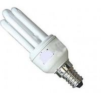 LAMPADINA A BASSO CONSUMO-RISPARMIO ENERGETICO 24 WATT E14 CALDA