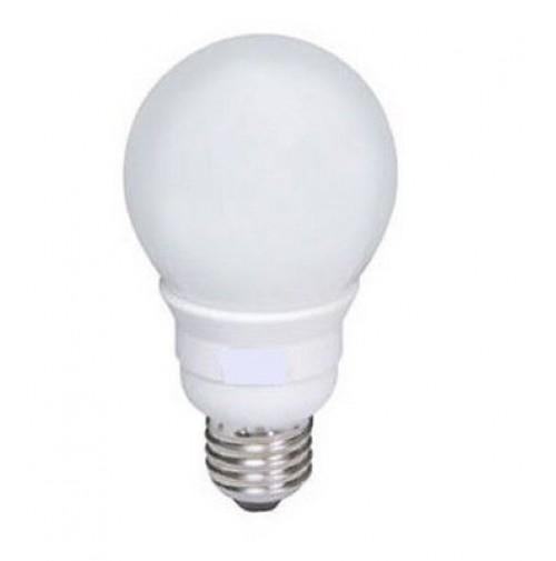 LAMPADINA A BASSO CONSUMO-RISPARMIO ENERGETICO MINI SFERA 11 WATT  FREDDA