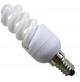 LAMPADINA BASSO CONSUMO RISPARMIO ENERGETICO 11 WATT (55W) PASSO E14 LUCE CALDA
