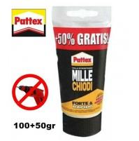 PATTEX MILLE CHIODI COLLA MASTICE SUPER EFFICACE EFFETTO VENTOSA LA MIGLIORE--