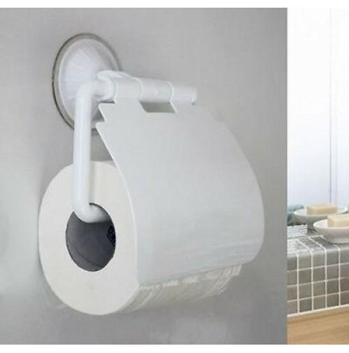Porta rotolo carta igienica a ventosa niente fori - Porta carta igienica ...