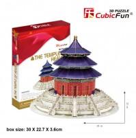 PUZZLE 3D DEL TEMPIO DEL CIELO/PARADISO 115 PEZZI CM 28 X 28 X H 22 (NO COLLA)