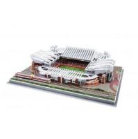 PUZZLE 3D RIPRODUZIONE STADIO OLD TRAFFORD 186 PEZZI CM 39,5 X 29 X H 9 NO COLLA