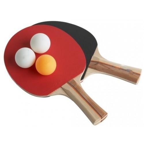 Set 2 racchette ping pong 3 palline tennis da tavolo - Costo tavolo da ping pong ...