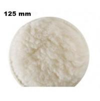 TAMPONE CUFFIA IN LANA X LUCIDARE FISSAGGIO A STRAPPO 125 mm PER SMERIGLIATRICE