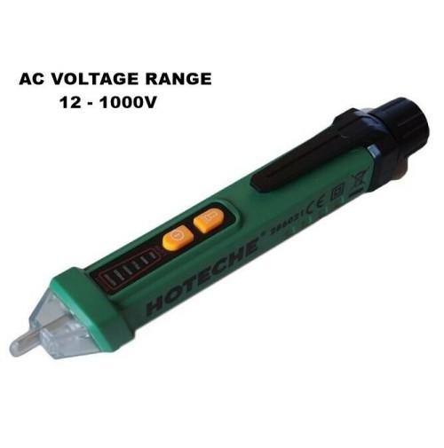 Tester Cercafase Rilevatore di tensione AC senza contatto